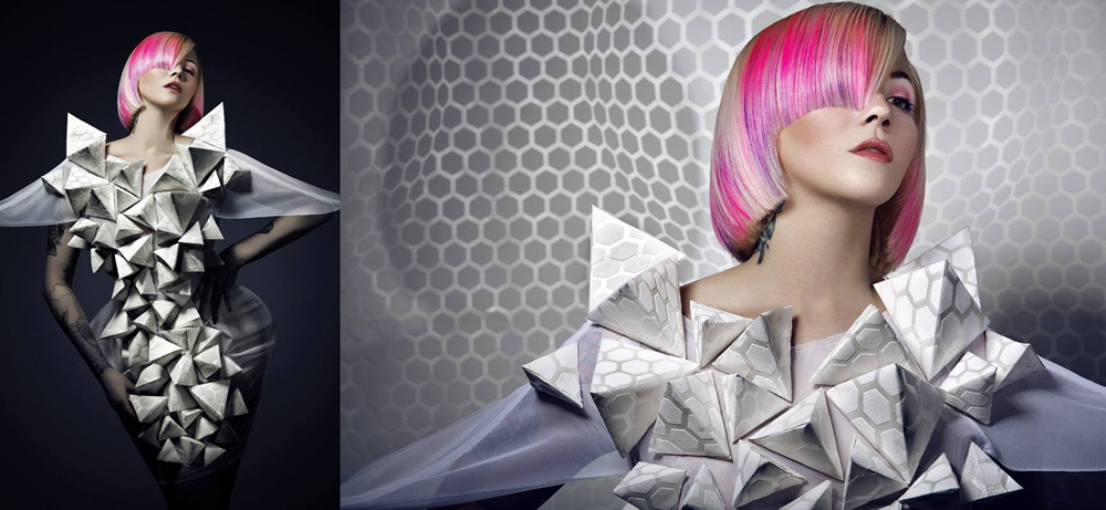 GOLDWELL COLOR ZOOM CHALLENGE 2014: GLOBAL NEW TALENT COLORIST – 2. místo